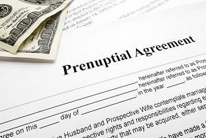prenuptial agreement, Wheaton family lawyer